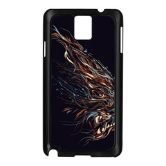 A Beautiful Beast Samsung Galaxy Note 3 N9005 Case (black) by Contest1889625