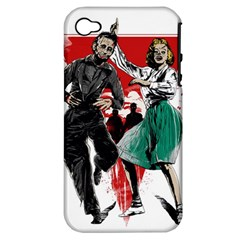 Dance Of The Dead Apple Iphone 4/4s Hardshell Case (pc+silicone)