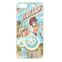 Nerdcorps Apple Iphone 5 Seamless Case (white)