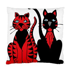 Cool Cats Cushion Case (two Sided)  by StuffOrSomething