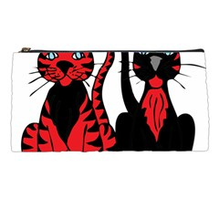 Cool Cats Pencil Case by StuffOrSomething