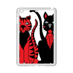 Cool Cats Apple Ipad Mini 2 Case (white) by StuffOrSomething