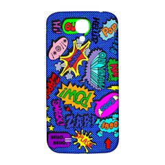 Bubbles Samsung Galaxy S4 I9500/i9505  Hardshell Back Case