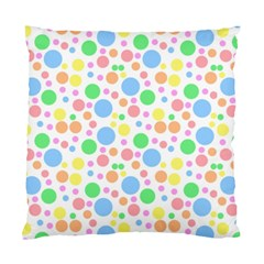 Pastel Bubbles Cushion Case (single Sided)  by StuffOrSomething