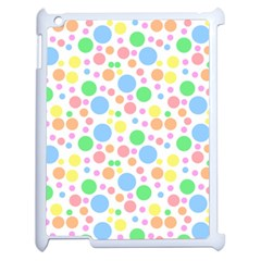 Pastel Bubbles Apple Ipad 2 Case (white) by StuffOrSomething