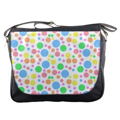 Pastel Bubbles Messenger Bag