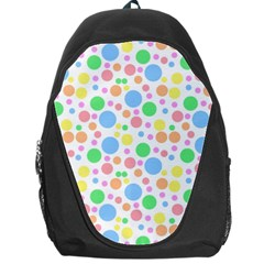 Pastel Bubbles Backpack Bag by StuffOrSomething