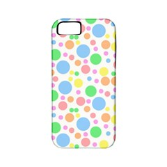Pastel Bubbles Apple Iphone 5 Classic Hardshell Case (pc+silicone) by StuffOrSomething