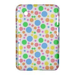 Pastel Bubbles Samsung Galaxy Tab 2 (7 ) P3100 Hardshell Case  by StuffOrSomething