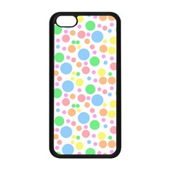 Pastel Bubbles Apple Iphone 5c Seamless Case (black) by StuffOrSomething