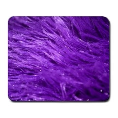Purple Tresses Large Mouse Pad (rectangle) by FunWithFibro