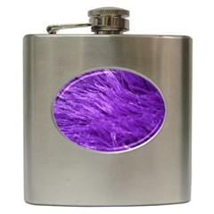 Purple Tresses Hip Flask