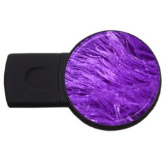 Purple Tresses 2gb Usb Flash Drive (round)
