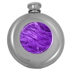 Purple Tresses Hip Flask (round) by FunWithFibro