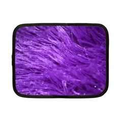 Purple Tresses Netbook Sleeve (small) by FunWithFibro