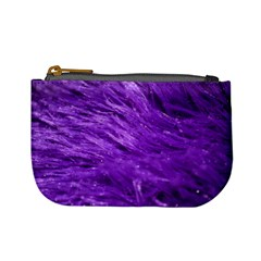 Purple Tresses Coin Change Purse by FunWithFibro