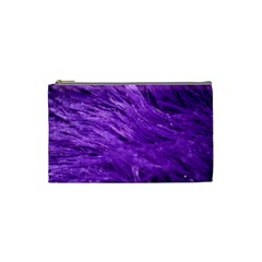 Purple Tresses Cosmetic Bag (small) by FunWithFibro