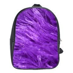 Purple Tresses School Bag (large) by FunWithFibro