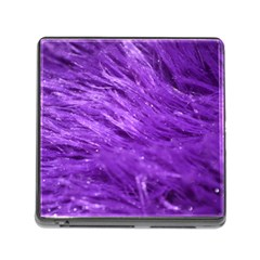 Purple Tresses Memory Card Reader With Storage (square)