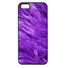Purple Tresses Apple Iphone 5 Seamless Case (black)