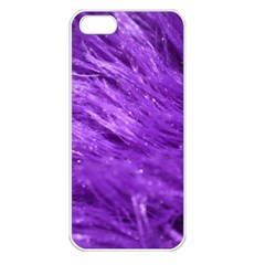 Purple Tresses Apple Iphone 5 Seamless Case (white)