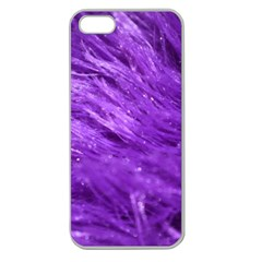 Purple Tresses Apple Seamless Iphone 5 Case (clear)