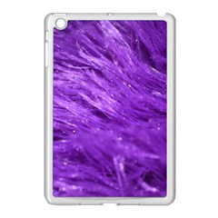 Purple Tresses Apple Ipad Mini Case (white)