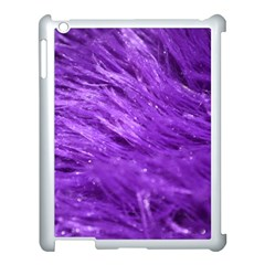 Purple Tresses Apple Ipad 3/4 Case (white) by FunWithFibro