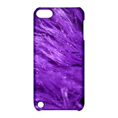 Purple Tresses Apple Ipod Touch 5 Hardshell Case With Stand by FunWithFibro