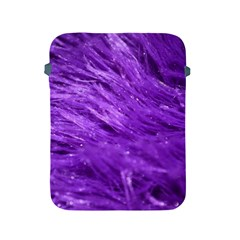 Purple Tresses Apple Ipad Protective Sleeve by FunWithFibro