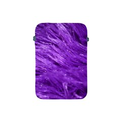 Purple Tresses Apple Ipad Mini Protective Sleeve by FunWithFibro