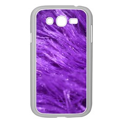 Purple Tresses Samsung Galaxy Grand Duos I9082 Case (white) by FunWithFibro
