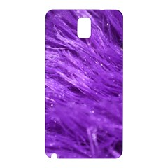 Purple Tresses Samsung Galaxy Note 3 N9005 Hardshell Back Case by FunWithFibro