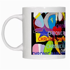 Chronic Pain Syndrome White Coffee Mug