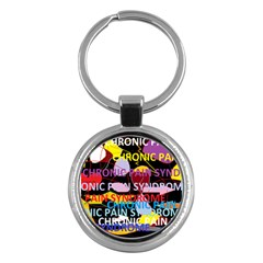 Chronic Pain Syndrome Key Chain (round) by FunWithFibro