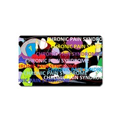 Chronic Pain Syndrome Magnet (name Card) by FunWithFibro