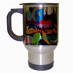 Chronic Pain Syndrome Travel Mug (silver Gray) by FunWithFibro
