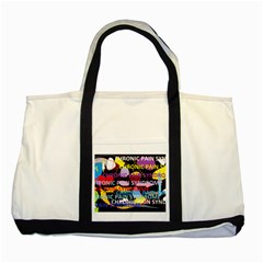 Chronic Pain Syndrome Two Toned Tote Bag