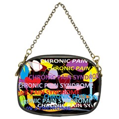 Chronic Pain Syndrome Chain Purse (two Sided)  by FunWithFibro