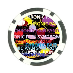 Chronic Pain Syndrome Poker Chip (10 Pack)