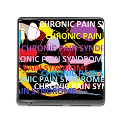Chronic Pain Syndrome Memory Card Reader With Storage (square) by FunWithFibro