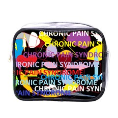 Chronic Pain Syndrome Mini Travel Toiletry Bag (one Side) by FunWithFibro