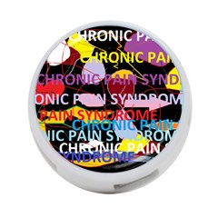 Chronic Pain Syndrome 4 Port Usb Hub (two Sides) by FunWithFibro