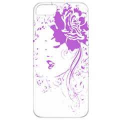 Purple Woman Of Chronic Pain Apple Iphone 5 Classic Hardshell Case