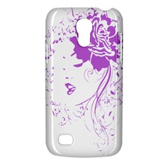 Purple Woman Of Chronic Pain Samsung Galaxy S4 Mini (gt I9190) Hardshell Case