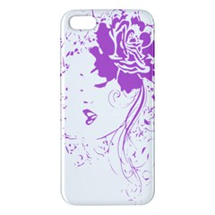 Purple Woman Of Chronic Pain Iphone 5s Premium Hardshell Case