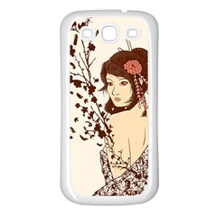Come To Life Samsung Galaxy S3 Back Case (white) by Contest1736614