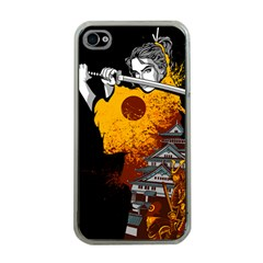 Samurai Rise Apple Iphone 4 Case (clear) by Contest1889920
