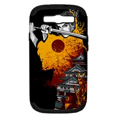 Samurai Rise Samsung Galaxy S Iii Hardshell Case (pc+silicone) by Contest1889920