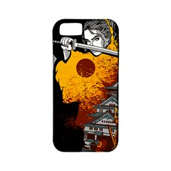Samurai Rise Apple Iphone 5 Classic Hardshell Case (pc+silicone)